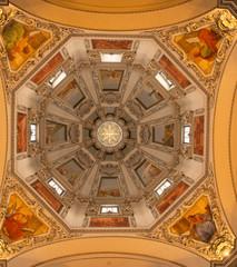 Ceiling in Salzburg Cathedral, Austria