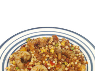 Prawns with Couscous