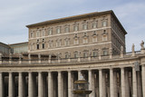 The Papal Apartments in the Vatican