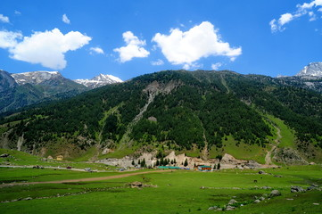 Sonamarg in north India