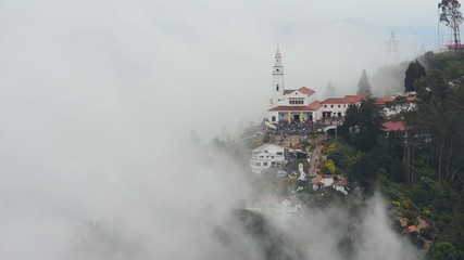 Monserrate Church and Clouds