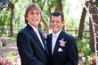 Handsome Gay Wedding Couple