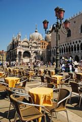Piazza San Marco with Campanile, Basilika San Marco and Doge Pal