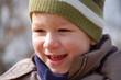 fröhlicher Junge