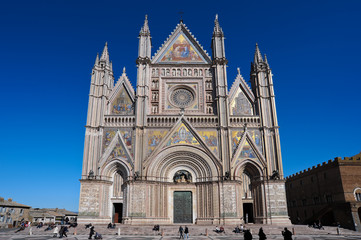 Facciata del Duomo di Orvieto