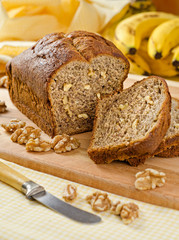 Banana Bread Nut Loaf