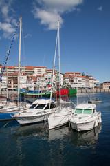Barcos en Lekeitio