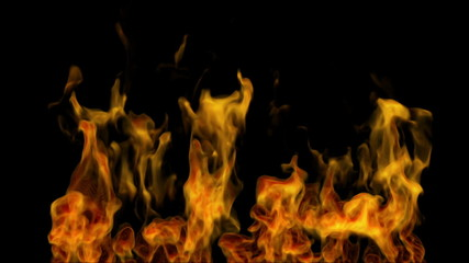 abstract igniting fire flame animated background