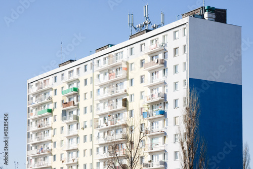 Blok mieszkalny - wierzowiec