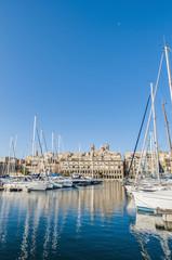 Dockyard Creek in Senglea, Malta