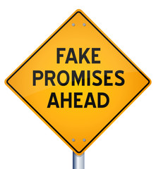 Fake Promises ahead