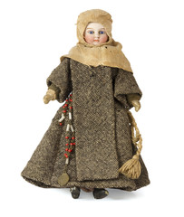 Antique nun doll
