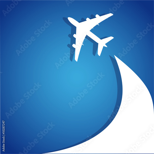 airplane flight tickets air fly cloud sky blue