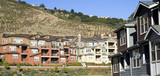 Urban Sprawl Dwellings Spring up For Domestic Living on Hillside