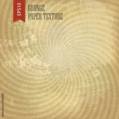 Grunge sunburst background. Vector, EPS10