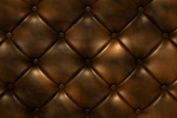 Brown leather Render