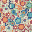 pretty floral seamless background