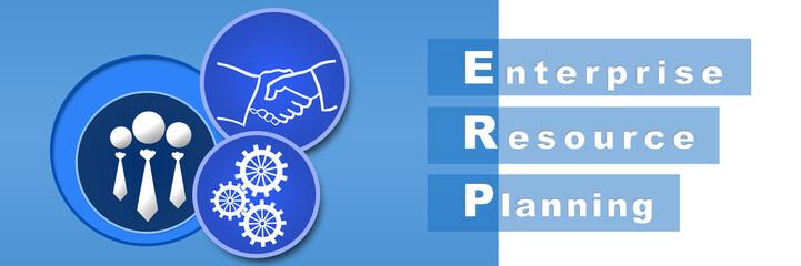 ERP Blue Banner