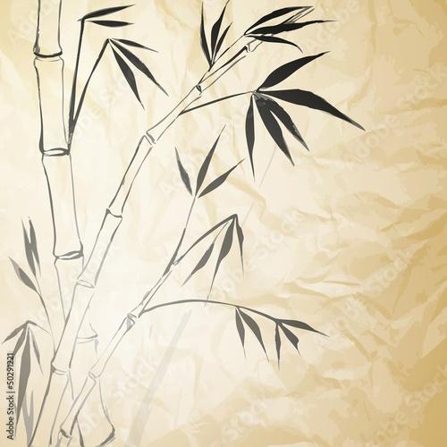 Fototapeten,hintergrund,papier,bambus,malerei