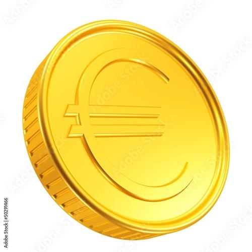 große Euro-Goldmünze