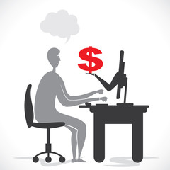 online earning concept