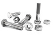 canvas print picture - Nuts and bolts