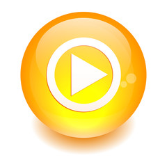 Button sphere flash games Internet orange