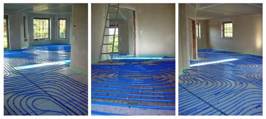 Fußbodenheizung-Einbau