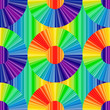 Rainbow colored  vector background