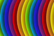 Rainbow colored stripes abstract vector background