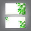 Environment theme business card template