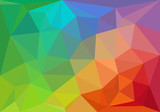 colorful geometric background, vector
