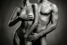 Nu couple sensuel