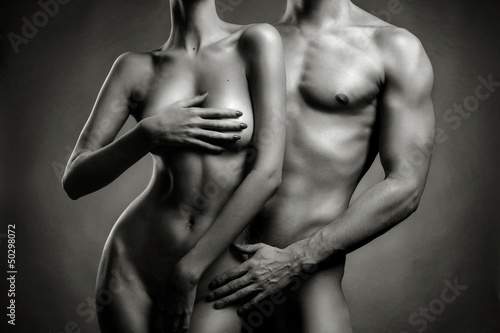 Nude sensual couple - 50298072