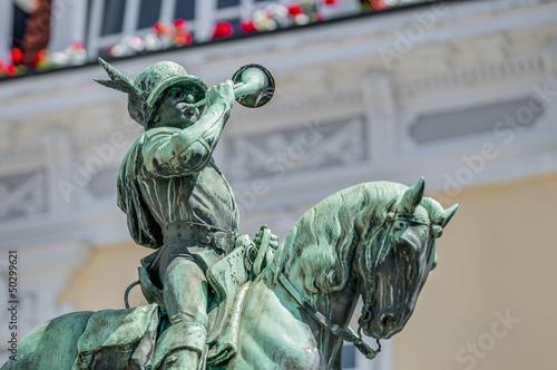 Michel Fountain in Esslingen am Neckar, Germany - 50299621