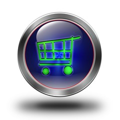 E- commerce glossy icons