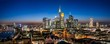canvas print picture - Frankfurt Cityscape