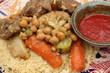 Couscous Royal Harissa - Viandes et légumes