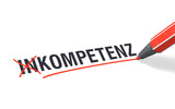 Stift- & Schriftserie: Kompetenz statt Inkompetenz