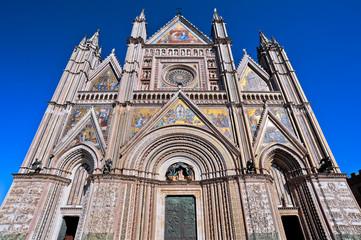 Prospettiva del Duomo di Orvieto