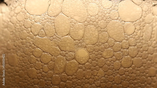 Close up of beer bubbles (macro)