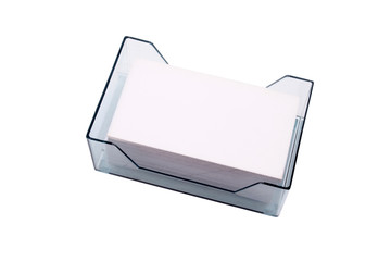 Business card acrylic case