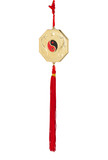 Yin yang wind chime for your lucky poster