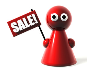Sale! Button, Icon