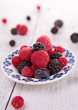 assortment of fresh berries