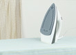Modern steam iron the new technology for ironing