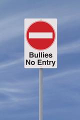 Anti-Bullying Road Sign