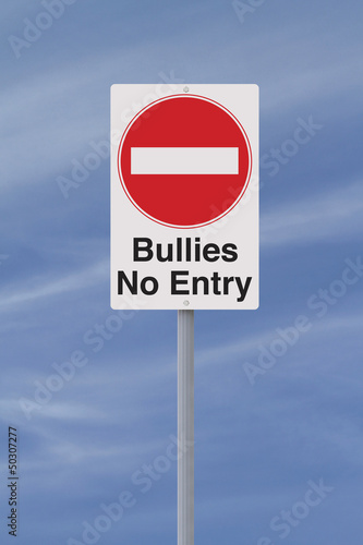 Anti-Bullying Road Sign