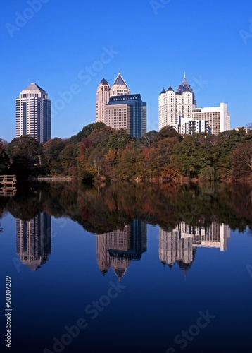 Skyscrapers, Atlanta, USA © Arena Photo UK