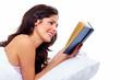 Reading woman.